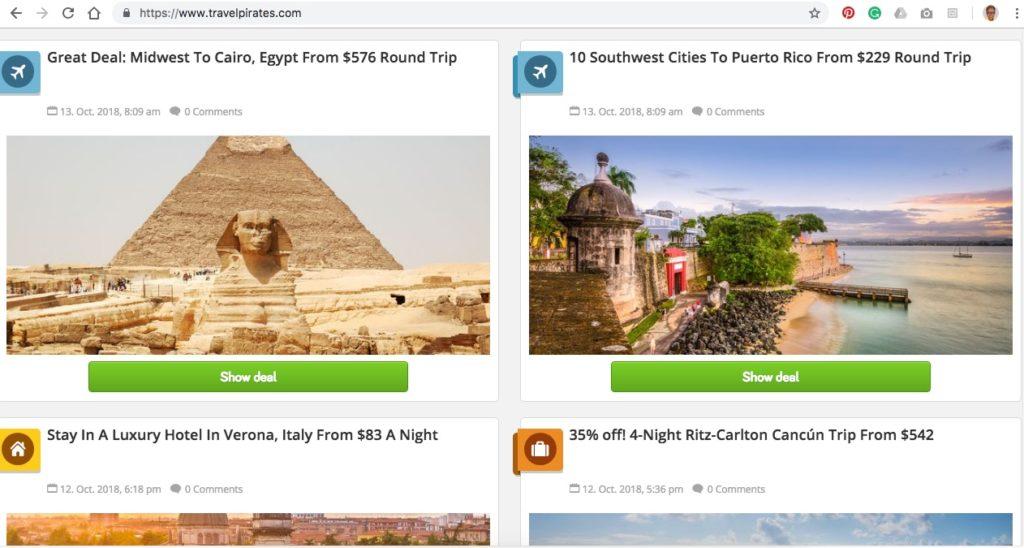 travelpirates deals