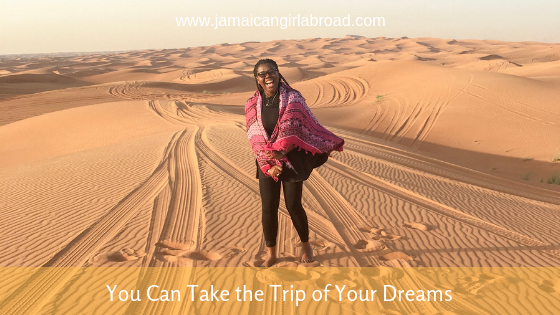 You Can Take the Trip of Your Dreams