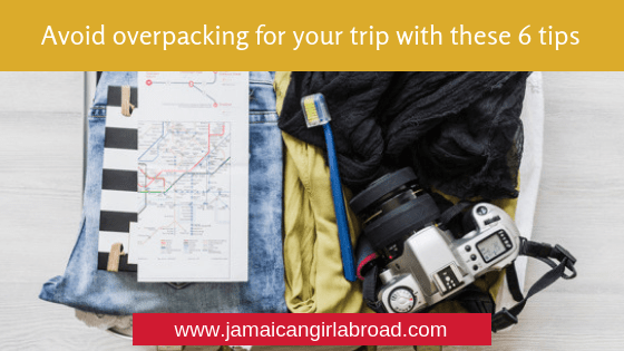 Avoid overpacking for your trip with these 6 tips