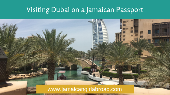 Visiting Dubai on a Jamaican Passport